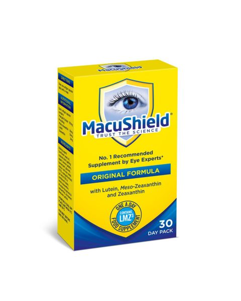 Macushield with MZ Supplements 30 Day. RRP £16.50