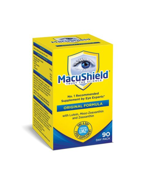 Macushield with MZ Supplements 90 Day  RRP £42.99