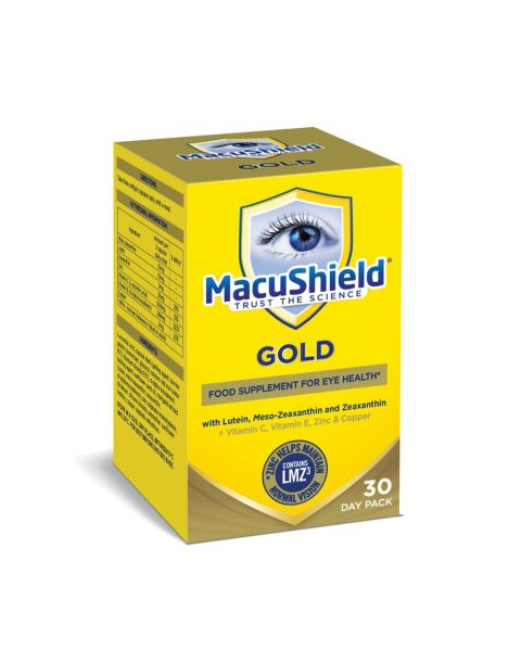 Macushield Gold Mz Supplements 30 Day RRP £21.99