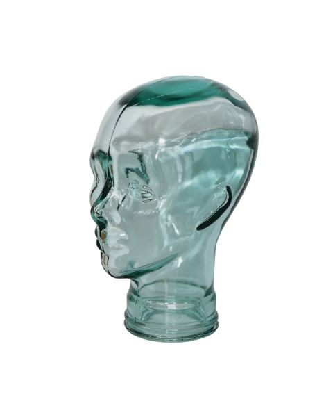 Glass Head Display Stand