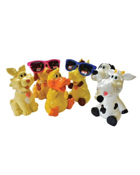 Optipets ANIMALS Piggy Bank (6 Pcs)