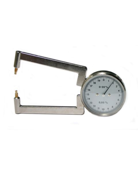 Thickness Gauge Sapphire Tip Replacement 2Pcs