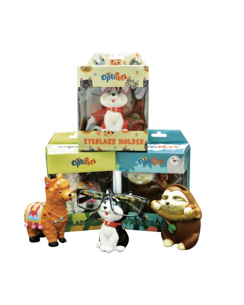 Optipets SLOTHS/KITTEN/ALPACAS 6pc Mixed Set