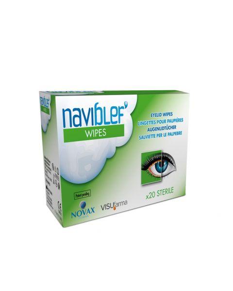 Naviblef Blepharitis Treatment Wipes 20pcs £11.99