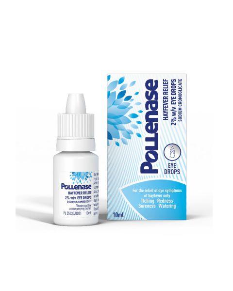 Pollenase Hayfever Relief 2% w/v 10ml RRP £5.74