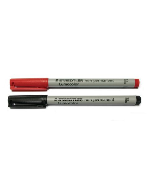 Staedtler Pen - Non Perm RED Fine 0.6 316 R 1Pc