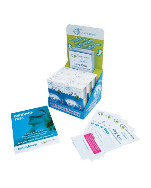 Lagad Lacrima Dry Eye Supp Starter Pack (6 units) RRP £89.70