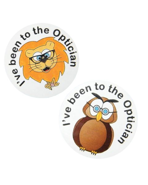 Children's Owl Sticker (Box of 250)