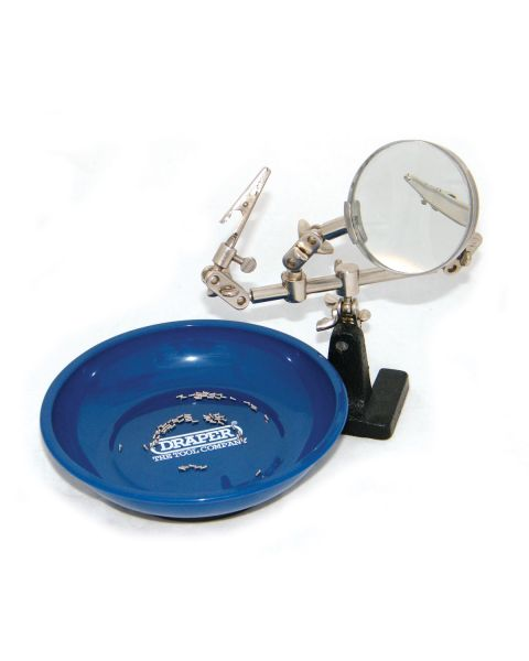Draper Blue Magnetic Parts Bowl