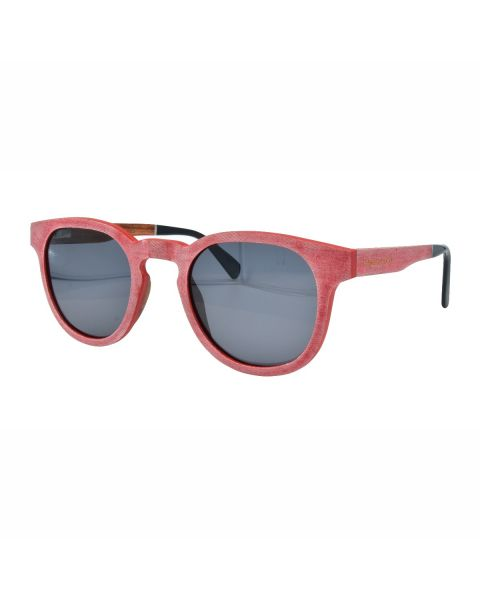 WILD CHERRY Wood Sunglass 50-25